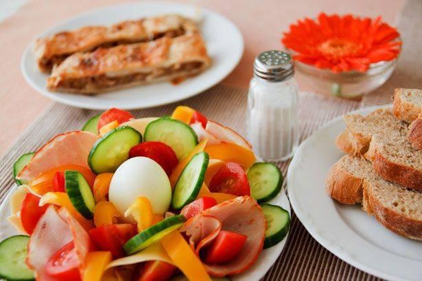 Esempio di dieta a zona: gli alimenti da assumere 2