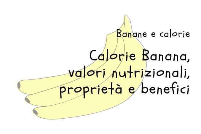 Calorie Banane
