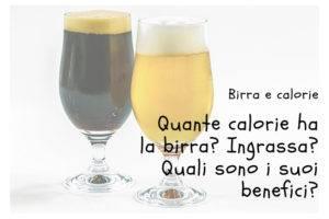 Calorie della birra