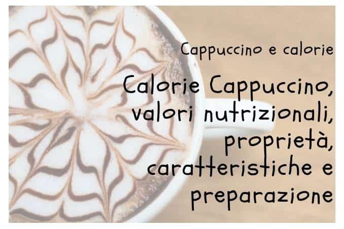 Calorie Cappuccino