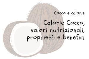 Calorie del Cocco