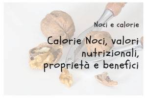 Calorie Noci