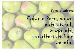 Calorie Pere