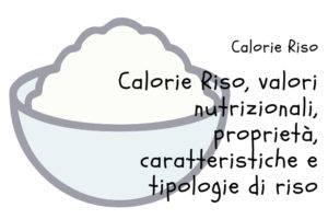 Calorie del Riso