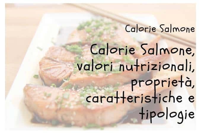 Calorie Salmone