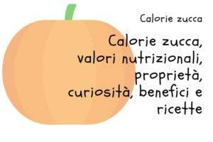 Calorie Zucca