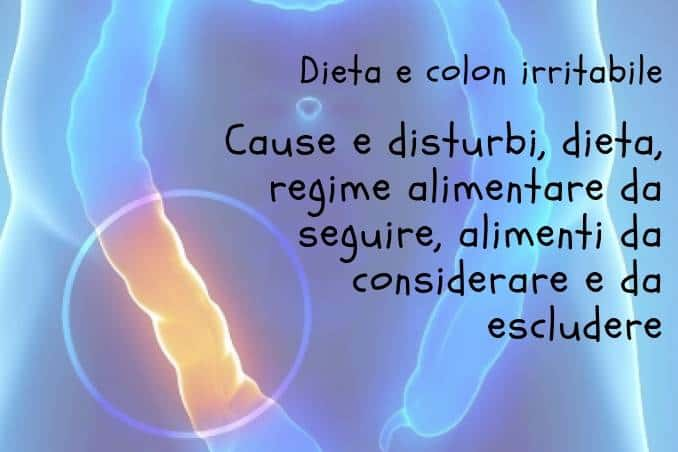 Dieta per colon irritabile