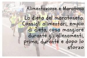 Dieta maratona