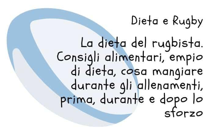 La dieta del rugbysta