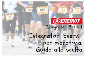 Integratori Enervit Maratona