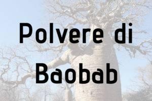 Polvere di baobab